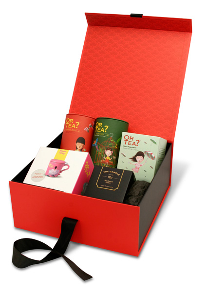 H or tea thee bouteille damour giftbox
